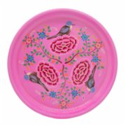 3rd Culture  Lotus Round Tray