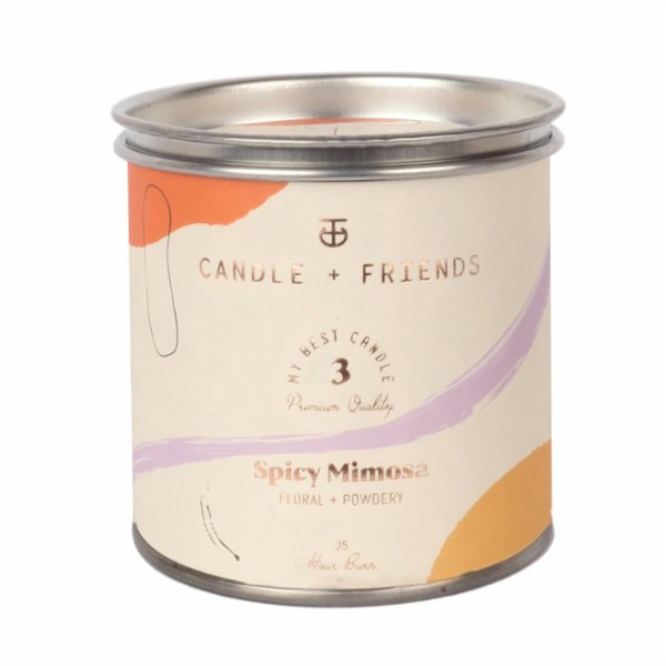 Candle and Friends No.3 Spicy Mimosa Tin Candle