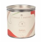 Candle and Friends Red Iris Tin Candle