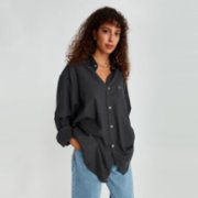 Fok  Oversize Women Shirt