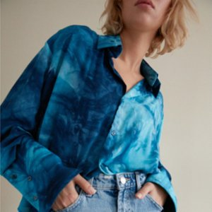 The Jacquelyns  Tj Classic Ocean Shirt