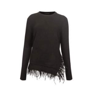 Rivus  Capucıne Feather Knit Sweater
