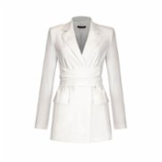 Rivus  Alonzoa Belted Crepe Jacket