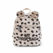 Childhome  My First Bag Canvas Leopard Bag