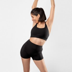 Ayma Active  Draped Back Cotton Bra