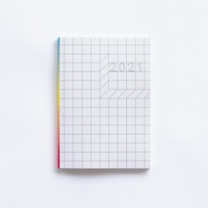 Paper Street Co.  2021 Weekly Planner: Square