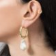 Felizist Leslie Pearl Earrings