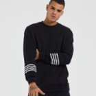 Tbasic Striped Oversize Sweatshirt