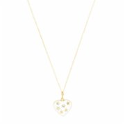 Felizist  Stardust Heart Necklace