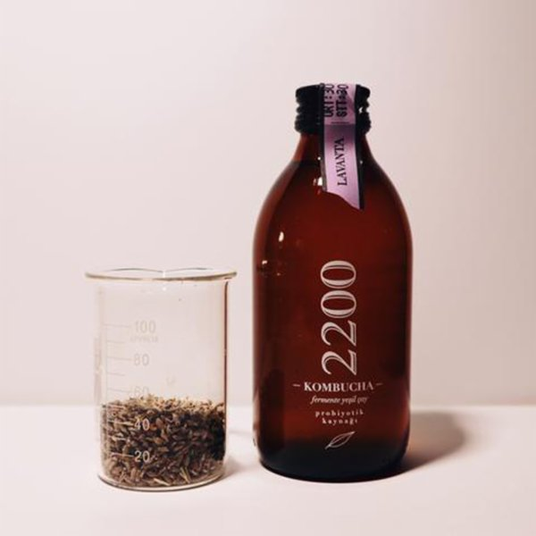 Kombucha 2200 Lavender Tea 6 Packs 250 ml
