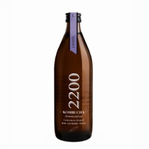 Kombucha 2200  Lavender Tea 6 Packs 500 ml