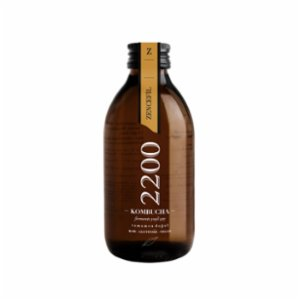 Kombucha 2200  Ginger Tea 6 Packs 500 ml