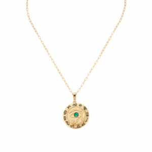 Aden Newyork  Eye Of Horus Necklace