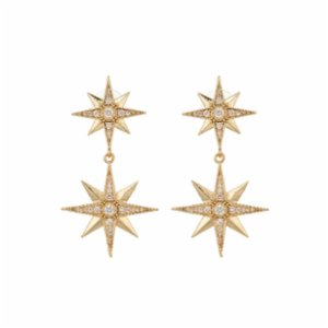 Aden Newyork  The North Star Earring