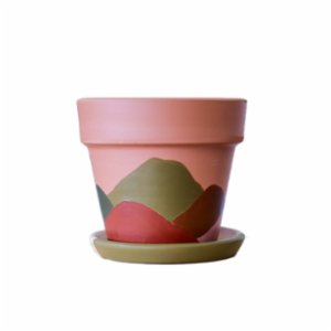 fi.dayy  Abstract No02 - Terracotta Plant Pot