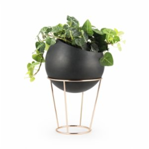 Coho Objet	  Stil Maxi Flower Pot with Copper Stand