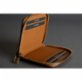 Bustha Earth C Zip S Zippered Leather Card Holder