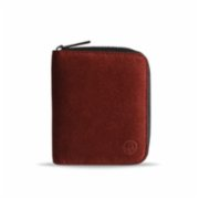 Bustha  Earth C Zip S Zipper Suede Card Holder