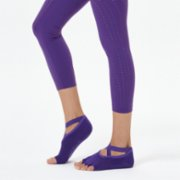 Nui Yoga  Cross Strap Yoga & Pilates Sock