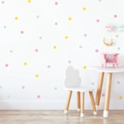 Jüppo  Pinkie Polka Dots Mini Wall Sticker Set
