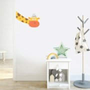 Jüppo  Giraffe Out of The Blue Wall Sticker - Left to Right