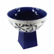 GA Ceramic  Footed Bowl