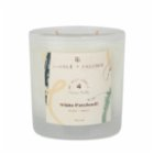 Candle and Friends No.4 White Patchouli Double Wick Glass Candle