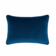 Alpaq Studio  Navy Blue Velvet Cushion