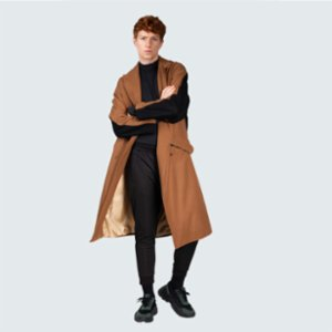 Vera  Shadow Wool Coat