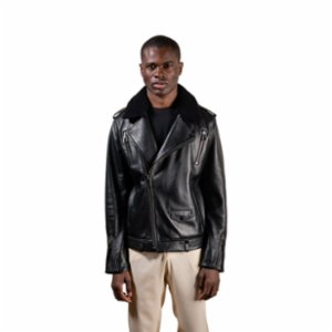 Vera  Eclipse Leather Jacket