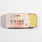 Soapy Cosmetics  Vegan Shine Pomegranate Lip Balm