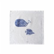 Moiratelier  A Blue Fish Story Napkin - I