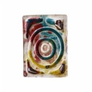 Seda Yaman  Aquarelle Effected Soap Pad And Cup Holder