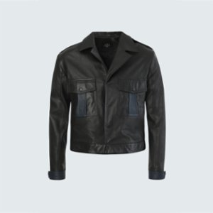 Vera  Vera 60S Leather Jacket