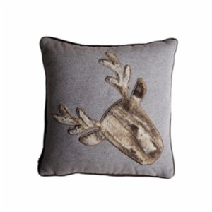 Table and Sofa  Deer Horn Applique Cushion II