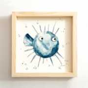 Kinderbow  Blowfish Edition Print