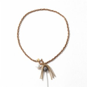 Urbanbake  Palm Tree Pearl Necklace