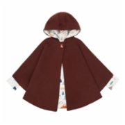 Lally Things  Nature Fan Cachet Coat Poncho