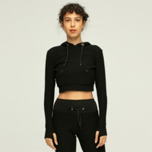 Ayma Active  Hooded Crop Sweat