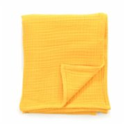 Bone Dea  4 Layered Yellow Müslin Blanket