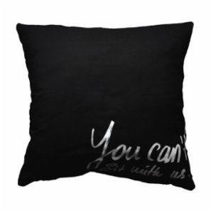 King Naked  You Can't Sit With Us Cushion Case