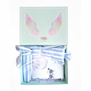 Lally Things  Blue Stripes Baby Set