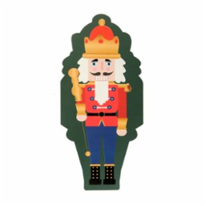 Cheerlabs  Merry Christmas Musical Greeting Card - Nutcracker Lead Soldier