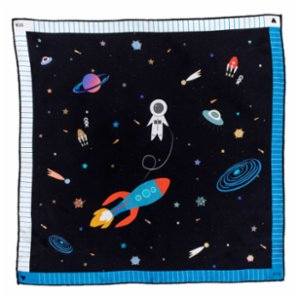 STA Atelier  Into The Space Scarf