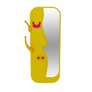 Sodd Design  Face to Face M Mirror and Hanger