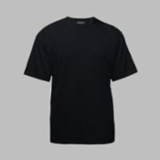 First Of All   Black Basic T-shirt