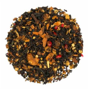 Tea Co.  Orange Cookie - Orange And Cinnamon Flavored Black Tea 50 Gr