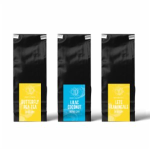 Tea Co.  Blue Tea Package