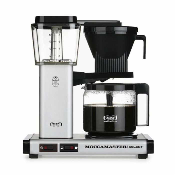 Moccamaster Select Filter Coffee Machine Glass Pot