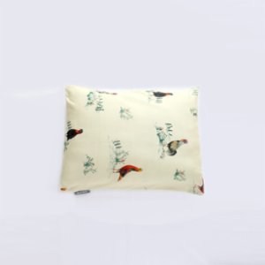 Mardi Matin  Rooster Farm Cotton Baby Pillow Cover